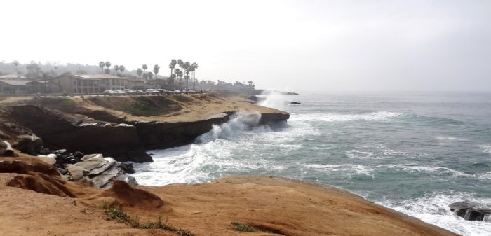 9. The scenery in San Diego is always breathtaking. Especially the cliffs found throughout the city that will add a touch of wonder to any afternoon.