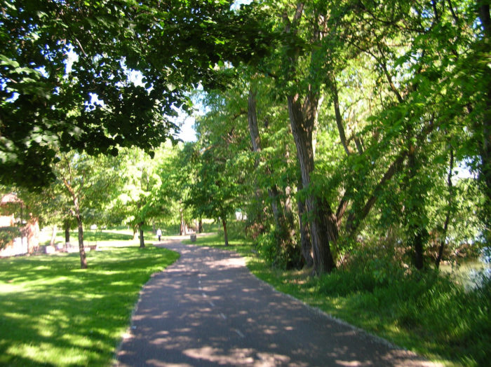 17. The  Boise River Greenbelt is our pride and joy.