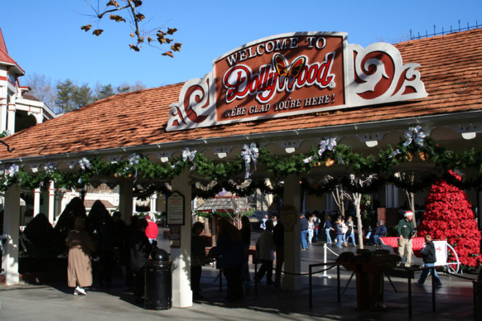 9. When you realize Dollywood is fairly…small.