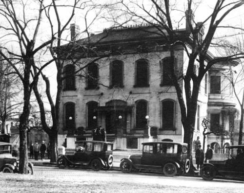By this time, the family was living in the Lemp Masion. After the eldest son's death, William was reportedly so overcome with grief that he started to lose his sanity.