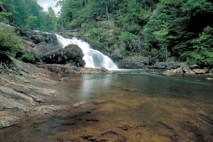 The Best Waterfall Swimming Holes In Georgia