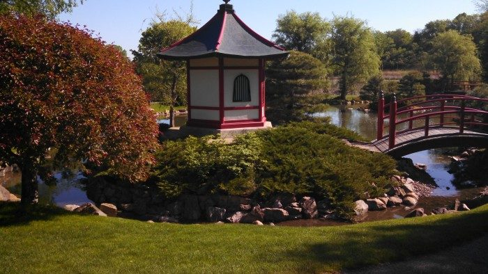 2. The Normandale Japanese Garden