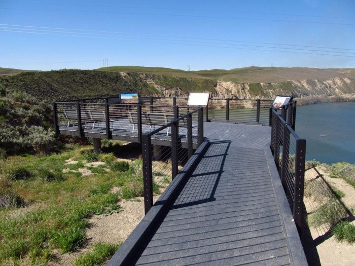 5. Hagerman Fossil Beds Boardwalk and Overlook, Hagerman