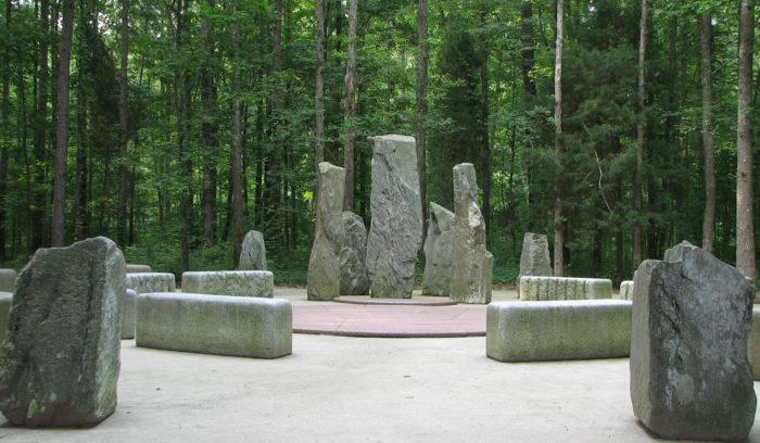 Previously, we featured the unique gardens at Annmarie Sculpture Garden & Art Center.