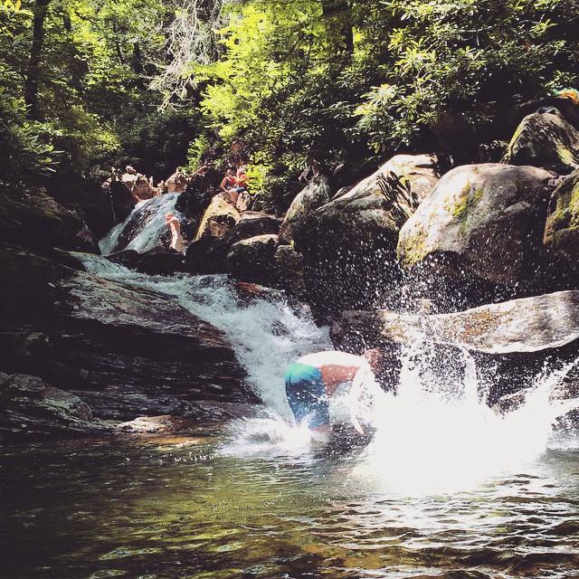 2. Skinny Dip Falls