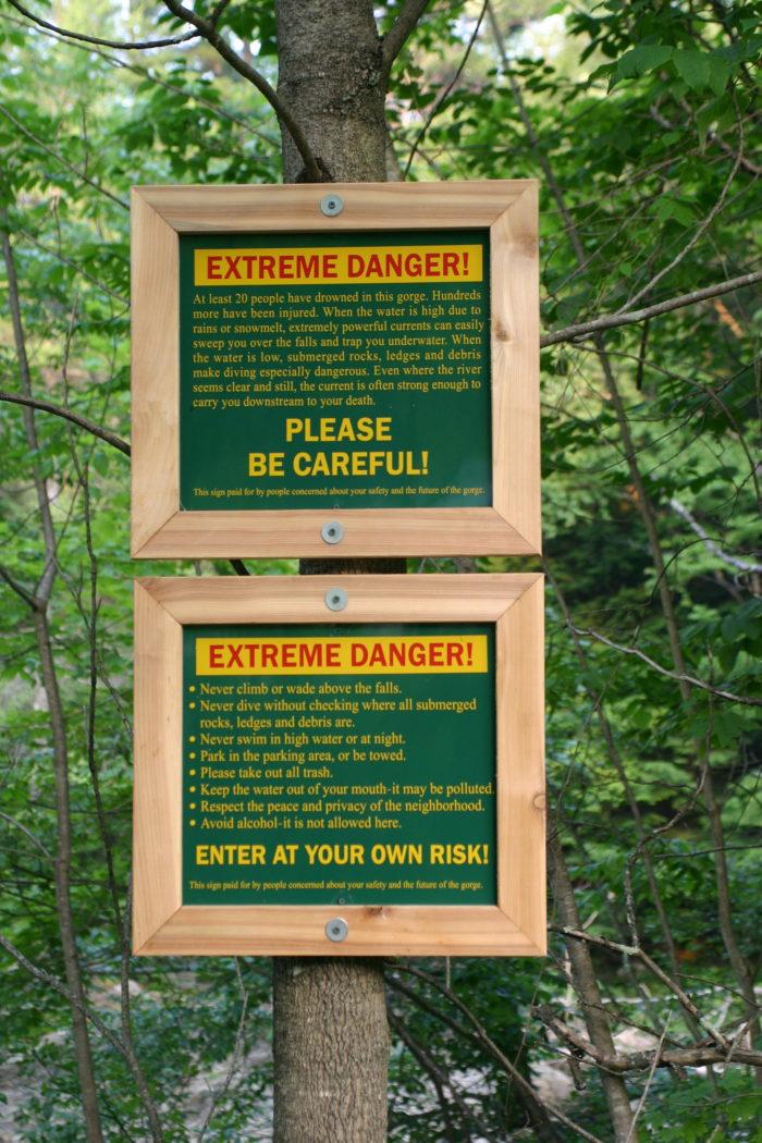 Heed the warning signs.