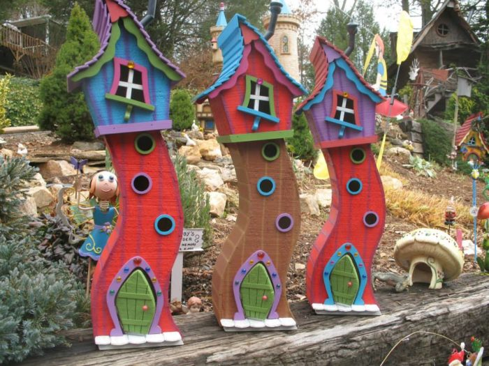 Art has a unique passion for designing and producing enchantingly charming fairy houses, gnome houses, fairy doors, and other magical elements.