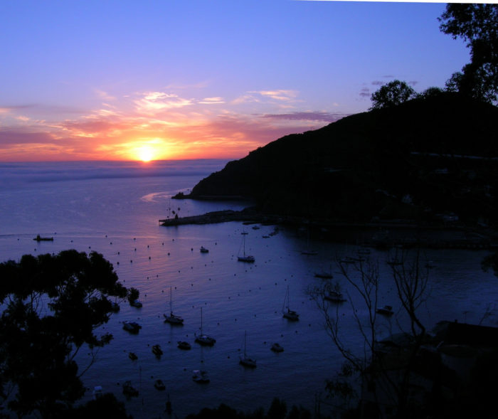 And this spectacular sunrise the next morning.  Nothing like waking up to the sight of this stunning and serene Bay.