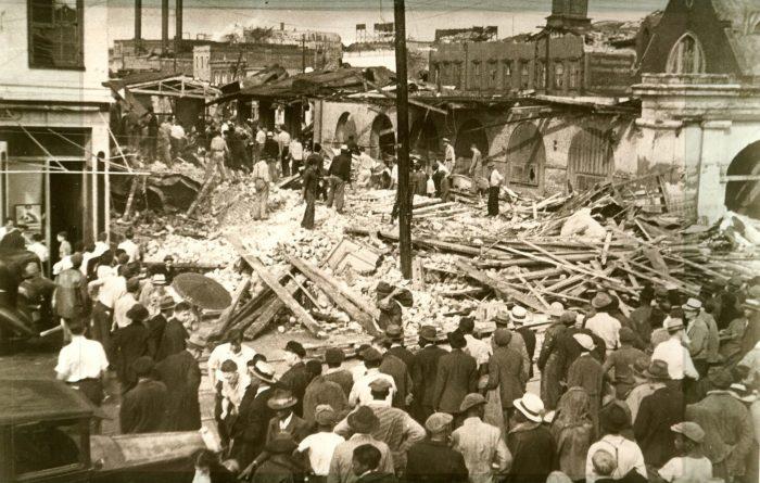 1. Charleston - September 29, 1938. A trio of tornados hits the Holy City, demolishing the City Market.