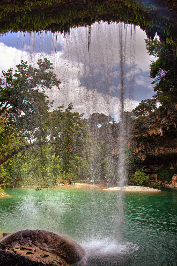 No matter how many times you've been to Hamilton Pool, I guarantee you've never experienced it like this. Seeing nature from a different perspective can make you feel like you're in an entirely new place.