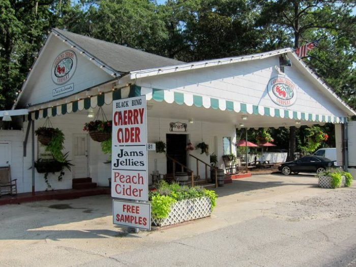 An iconic Yemassee landmark is the Carolina Cider Company, located along Highway 17 with two locations between Green Pond and Interstate 95.
