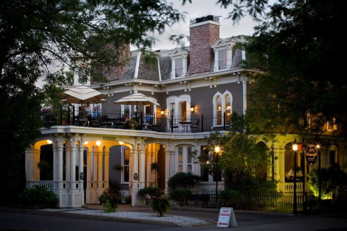 Forepaugh's is a stunning upscale restaurant with a beautiful patio and an even more impressive interior in this converted Victorian mansion.