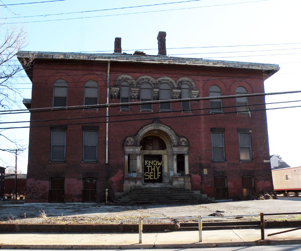 Scariest Haunted Houses Pittsburgh Pa: Abandoned Larimer School In Pittsburgh Is Hauntingly Beautiful