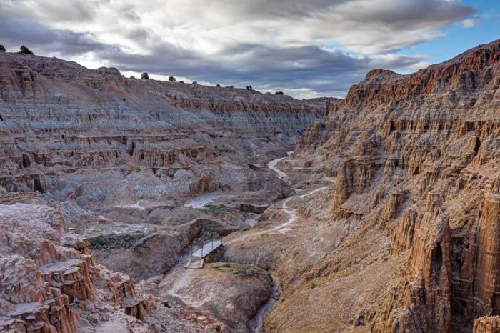 One of Nevada's first four state parks, Cathedral Gorge has long been a favorite area to explore.