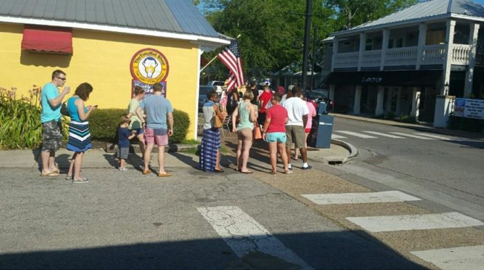 In fact, it's become so popular that a line going out the door and into the street is a common sight on most mornings.