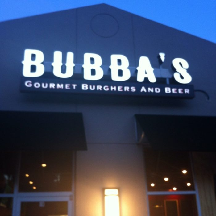2. Bubba's Gourmet Burghers and Beer - 3109 Washington Pike