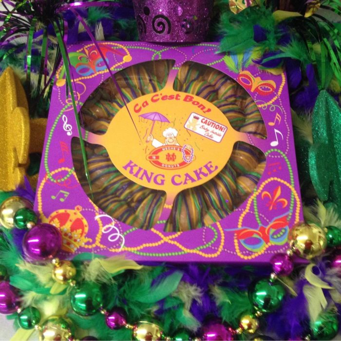 And of course when Mardi Gras rolls around, locals know where to go.