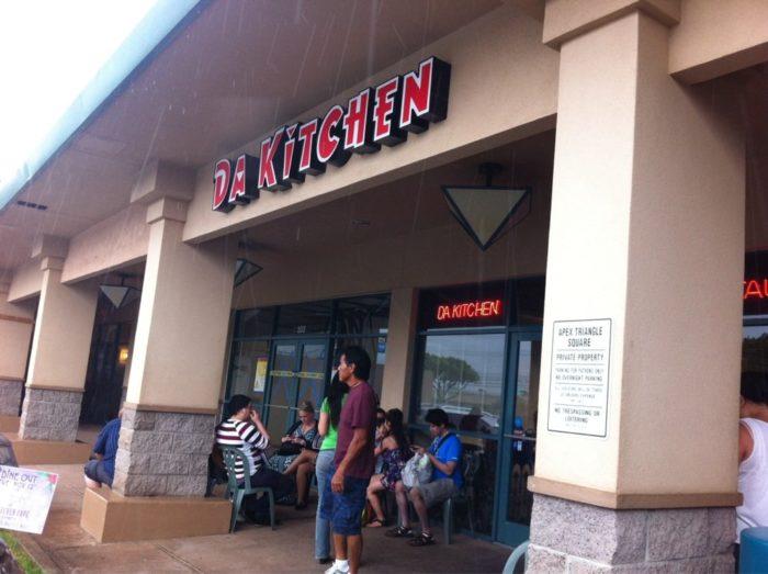 2. Da Kitchen, Kahului + Kihei