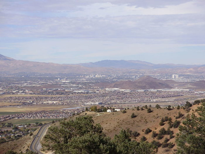 7. Geiger Lookout at Wayside Park - Reno