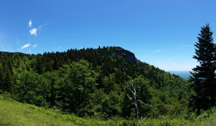 Mount Pisgah Campground is within hiking distance of the Mount Pisgah summit.