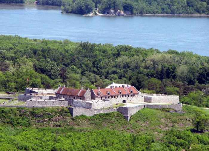 Known as America's Most Historic Landscape, the star-shaped fort was built by the French back in the 18th century.
