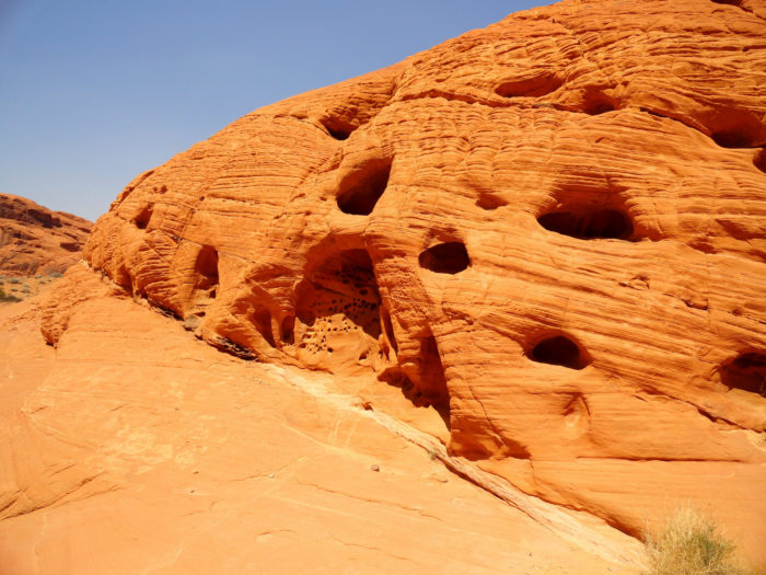 Well worth exploring, the trail brings you by natural archways and unique formations.