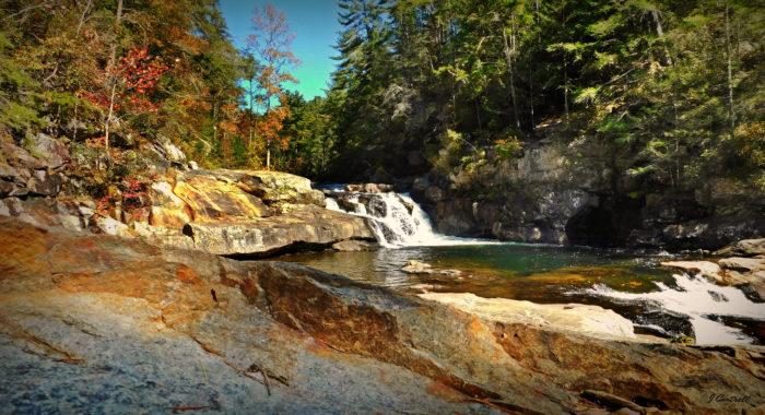 5. Swim the day away at Jacks Creek Falls.