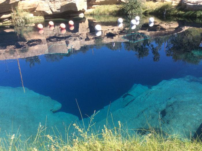 5. Blue Hole, Santa Rosa