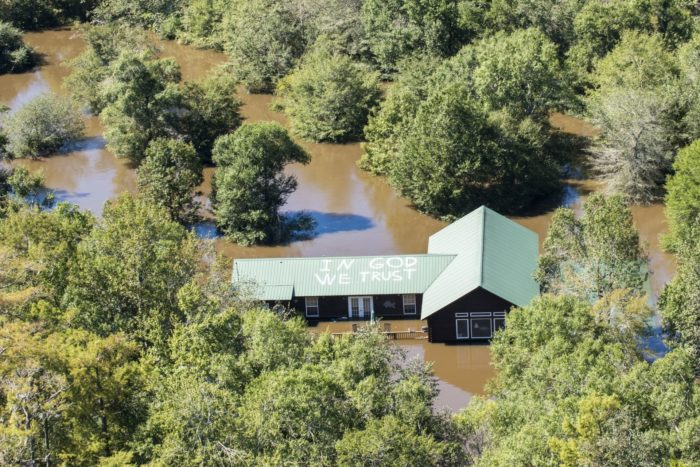 2. South Carolina - October 2015. The flood of the millenium sweeps over the Palmetto State wreaking havoc everywhere. The catastrophic flooding would continue to affect the Palmetto State for weeks.