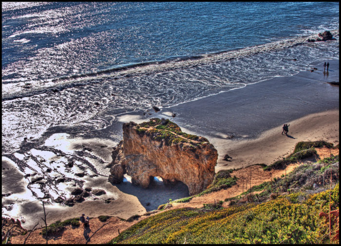 Welcome to El Matador Beach!