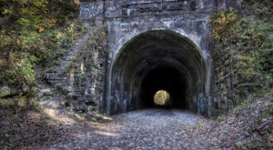 The Haunted Tunnel In Ohio Is Not For The Faint Of Heart