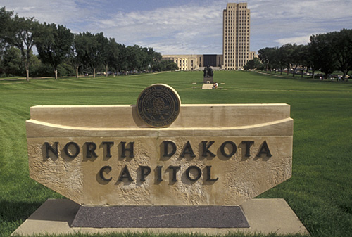 2. Visit the capitol in Bismarck. It's not just for school field trips - there's actually tons to do there.