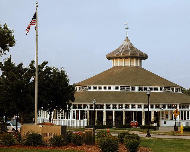 4. Crescent Park Looff Carousel, Riverside