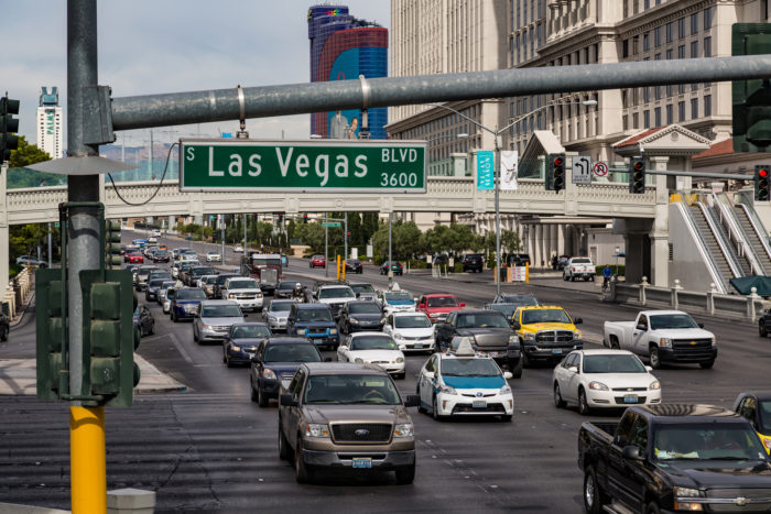5. Speaking of the Strip, the traffic on Las Vegas Boulevard is for suckers.