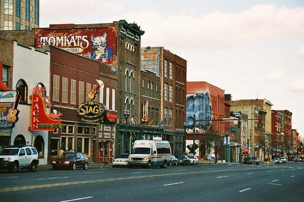5. The line of honky-tonks on Broadway is an iconic edge on Nash-Vegas.