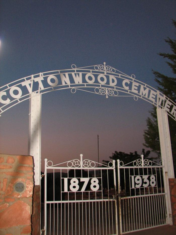 2. Cottonwood Cemetery