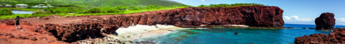 23. Take a photo in front of Lanai's sweetheart rock.