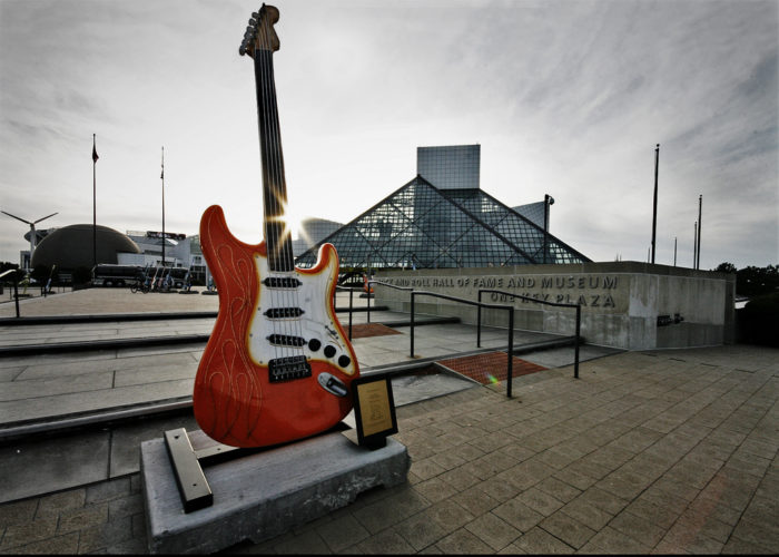 10. … The Rock and Roll Hall of Fame…