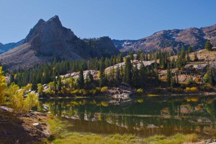 7. Assume that Utah is nothing but desert and sagebrush.