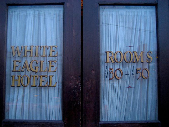 7. White Eagle Hotel