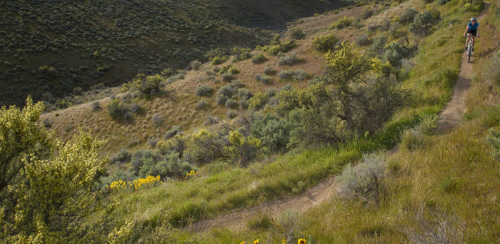 The Boise Foothills area used to be a military training zone, but today is explored by thousands every day.