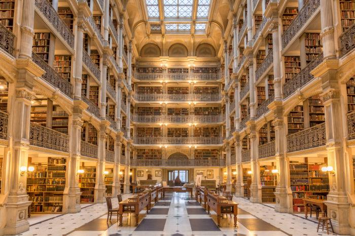 3. George Peabody Library
