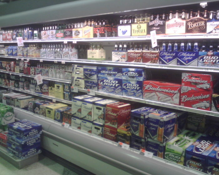 4. Or going to a grocery store in another state and being baffled at the sight of alcohol.