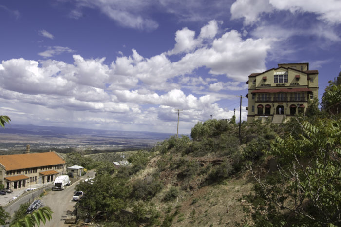 Built on the top of Cleopatra Hill, the haunted Jerome Grand Hotel is waiting for you.