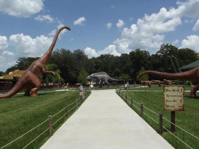 The Dinosaur Walk