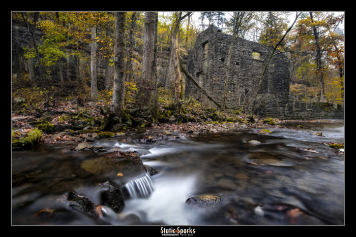 ...and the ruins of this old grist mill.