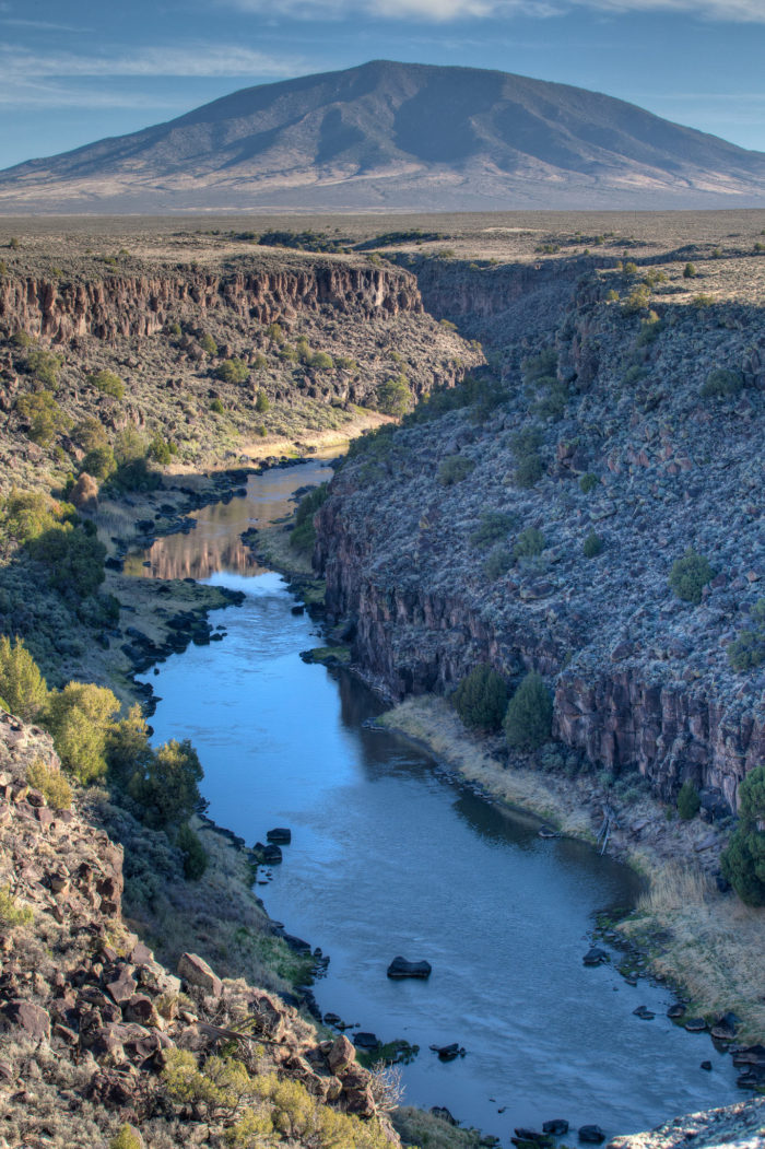 6. Rio Grande del Norte National Monument, near Taos (it actually takes up a notable chunk of Central Northern New Mexico)