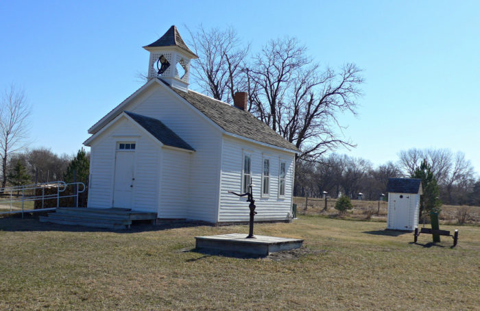 18. Gibbon Schoolhouse, now at the Stuhr Museum, Hall County