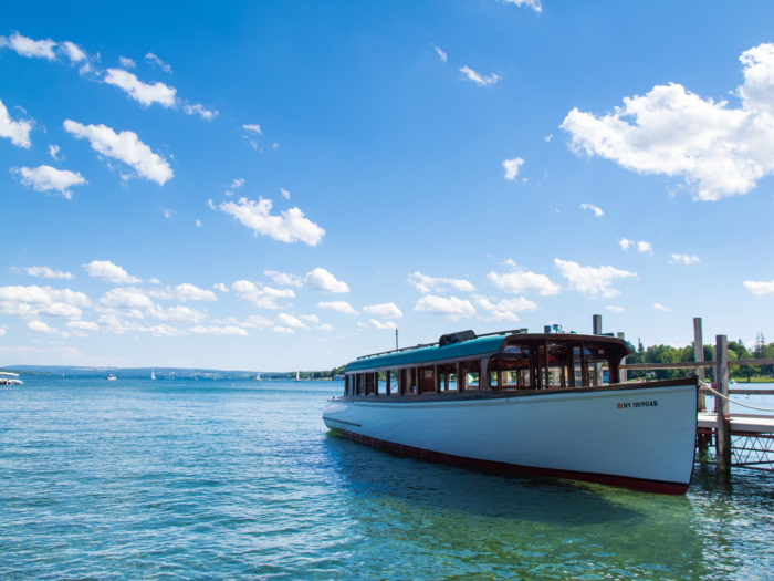 Long known for being one of the most clean and blue lakes in New York, say hello to beautiful Skaneateles Lake!