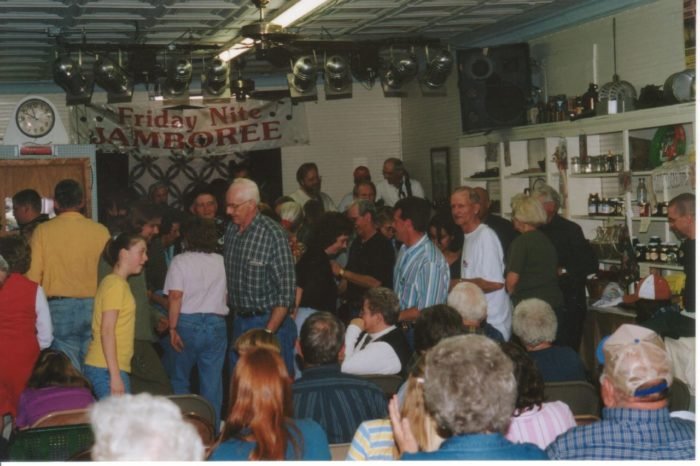 5. Go dancing at the Friday Night Jamboree in Floyd